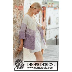 Wistful by DROPS Design - Strickmuster mit Kit Jacke Größen S - XXXL