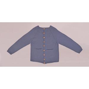 Strickcardigan Basic by Rito Krea - Strickmuster mit Kit Cardigan Größen 2 - 7 Jahre