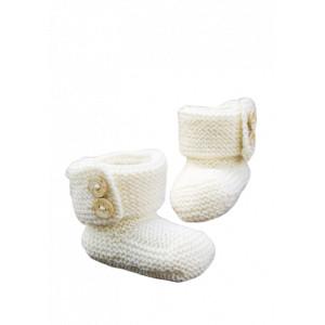 Järbo Baby Boots - Strickmuster mit Kit Baby-Schühchen Elise Größen 0-2 Jahre