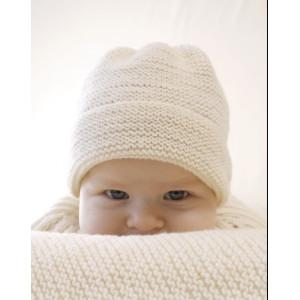 Peek-a-boo by DROPS Design - Strickmuster mit Kit Baby-Mütze Größen 0-4 Jahre