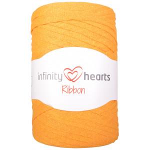 Infinity Hearts Ribbon Bändchengarn 28 Senfgelb