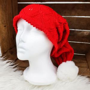 Knitted Christmas Hat by Rito Krea - Strickmuster mit Kit Weihnachtsmütze Größen S-L
