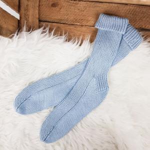Classic Socks with Bamboo Yarn by Rito Krea - Strickmuster mit Kit Socken Bambusgarn Größen 36-47