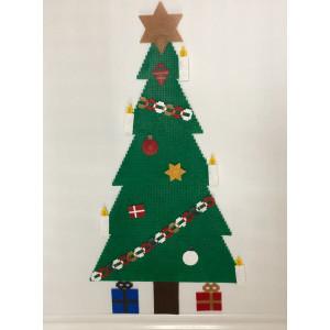 Weihnachtsbaum mit Ornamenten Weihnachtsmuster by Rito Krea – Perlen Design Weihnachten 58-72-87cm