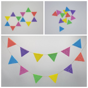Pennant Bunting by Rito Krea – Wimpel Perlen Design