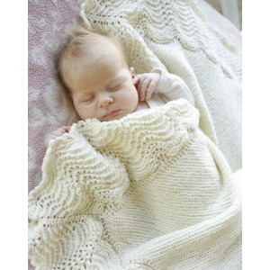 Baby Bliss by DROPS Design - Strickmuster mit Kit Baby-Decke 80x80cm