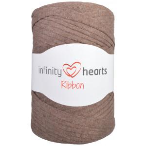 Infinity Hearts Ribbon Bändchengarn 09 Hellbraun