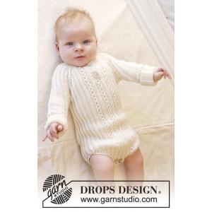 Simply Sweet by DROPS Design - Strickmuster mit Kit Baby-Body Größen 0-4 Jahre