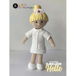 Mayflower Little Bits Alltagshelden Krankenschwester - Häkelmuster mit Kit Puppe