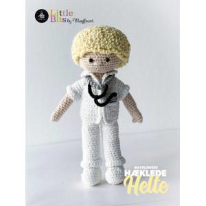 Mayflower Little Bits Alltagshelden Arzt - Häkelmuster mit Kit Puppe
