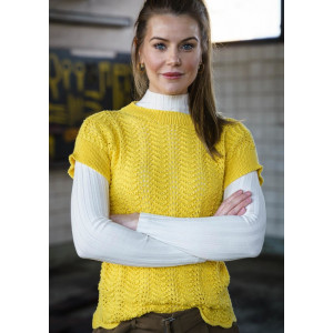 Mayflower Bluse mit Pfauenmuster - Strickmuster mit Kit Bluse Größen S-XXXL