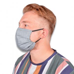 Gesichtsmaske mit Filter by Rito Krea - Nähmuster Mund-Nase-Schutz 18,5x9cm - 7 Stk