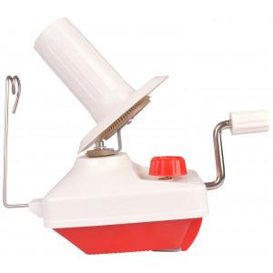 Infinity Hearts Wollwickler für Garn Rot/Weiß 20x9,5x20cm