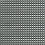 Kunstleder Pyramide Stoff 140cm 17 Hellgrau Metallic - 50cm