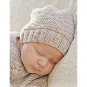 In my dreams by DROPS Design - Strickmuster mit Kit Baby-Mütze Größen 0-4 Monate