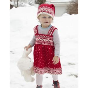 Miss Cookie by DROPS Design - Strickmuster mit Kit Kleid Größen 6 Monate - 6 Jahre