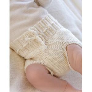 Pampered by DROPS Design - Strickmuster mit Kit Baby-Unterhosen Größen 0-4 Jahre