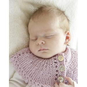 Serene by DROPS Design - Strickmuster mit Kit Baby-Deckchen Größen 0-4 Jahre