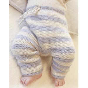 Heartthrob Pants by DROPS Design - Häkelmuster mit Kit Baby-Hose Größen 4-9 Monate