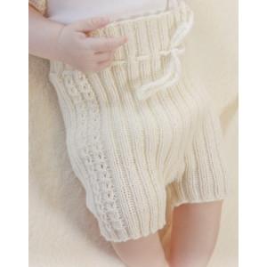 Simply Sweet Shorts by DROPS Design - Strickmuster mit Kit Baby-Hose Größen 0-4 Jahre