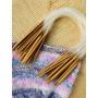 Infinity Hearts Rundstricknadeln Set Bambus 40cm 2-10mm - 15 Größen
