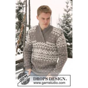 Simon by DROPS Design - Strickmuster mit Kit Pullover Größen XS/S - XXXL