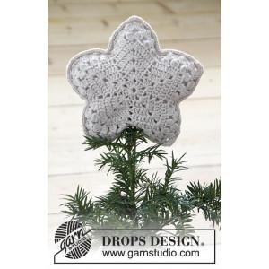 Top That! by DROPS Design - Häkelmuster mit Kit Weihnachtsstern 20x20cm