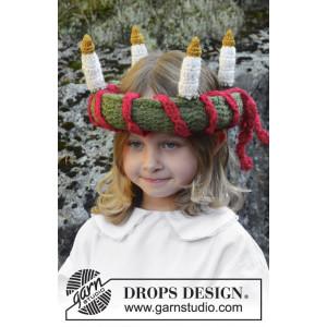 Little Lucia by DROPS Design - Häkelmuster mit Kit Lucias Krone 63cm